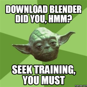 Seek Blender Training