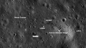 Annotated Apollo 15 Site