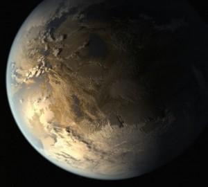 Artistic concept of Kepler-186f. Credit: NASA Ames/SETI Institute/JPL-Caltech