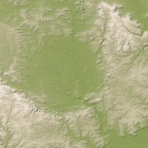 Crater in Germany. Credit: Jesse Allen/NASA/GSFC/METI/ERSDAC/JAROS/ASTER