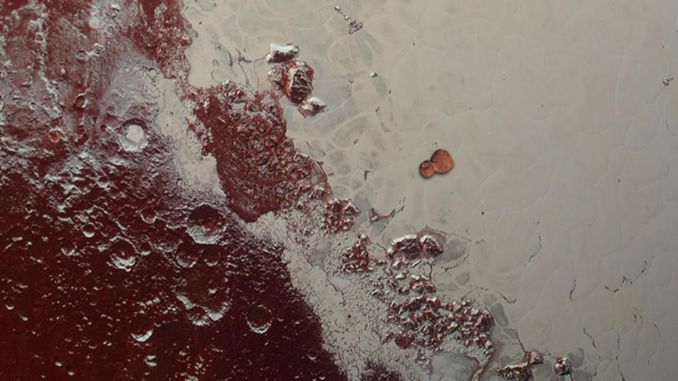 Pluto at 90, how to make MU69, and Mars ducks behind Moon