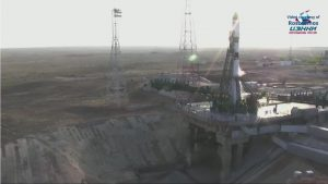 Roscosmos launched the Progress MS-14 resupply mission