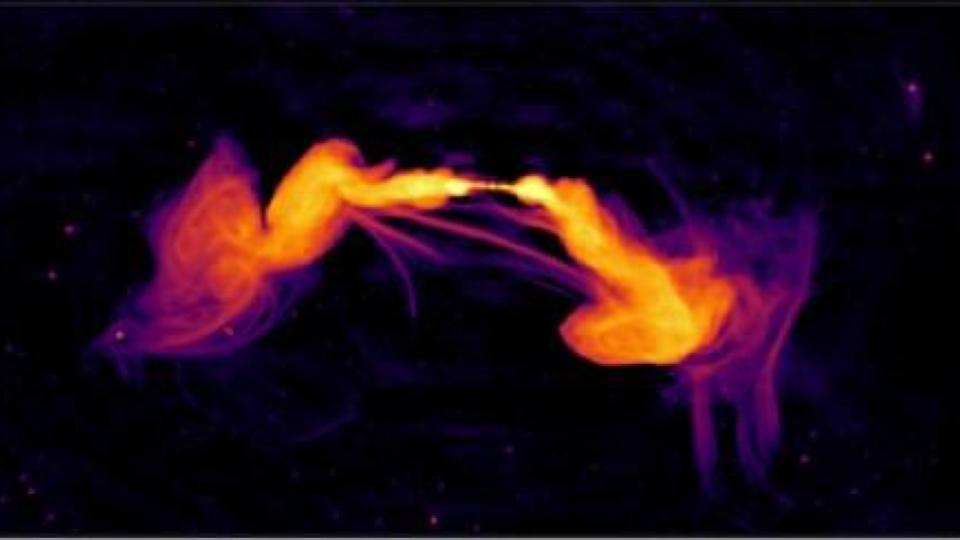 MeerKAT spots unusual features in distant galaxy, photographic proof merging galaxies produce jets of charged particles, and BepiColombo makes Earth flyby