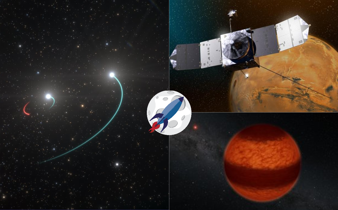 Hidden black holes, Mars Magnetic field, banded brown dwarfs, & special guest Andreas Faisst