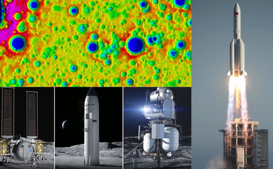 SpaceX get's their rocket test on; Artemis update; & Guest Dr Jim Richardson talks crater erosion