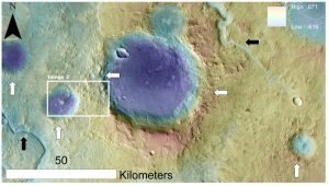Massive Mud Downpours Might Have Formed Some of the Most Ancient Highlands on Mars