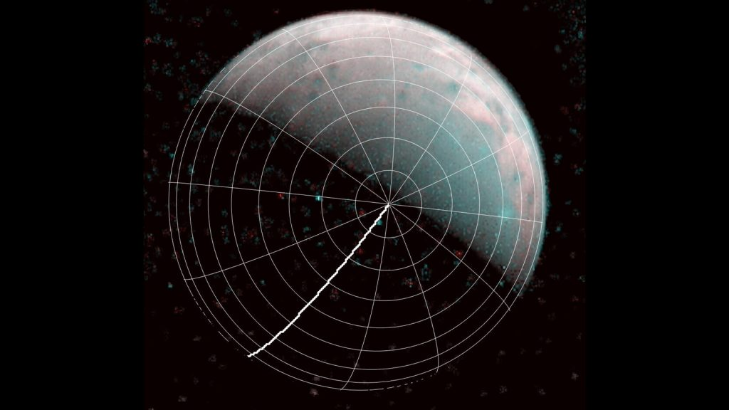 Juno Takes First Images of Jovian Moon Ganymede's North Pole