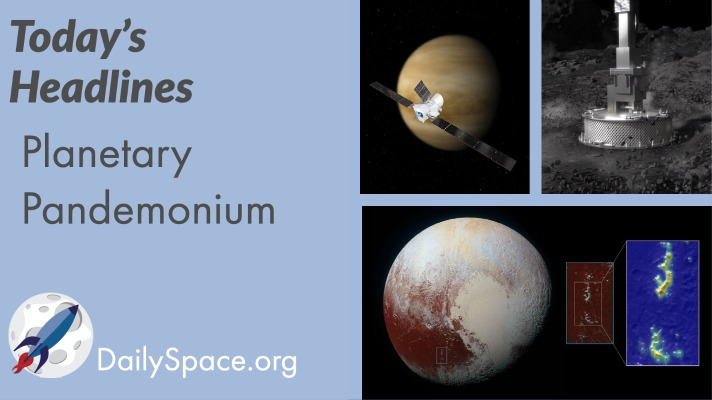 Planetary Pandemonium for 16 October 2020