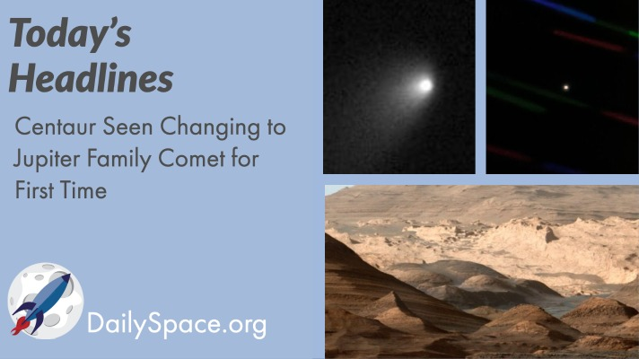 Centaur Seen Changing to Jupiter Family Comet for First Time