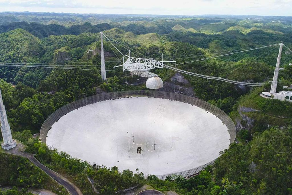 Second Cable Fails at NSF's Arecibo Observatory in Puerto Rico
