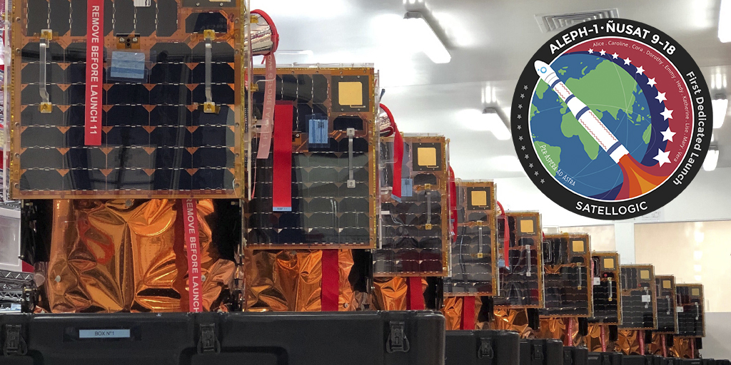 Ten Satellogic Earth-imaging satellites successfully launched