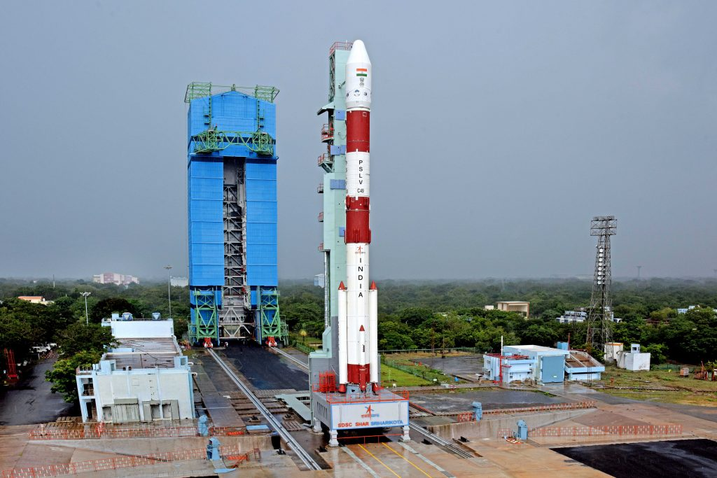 PSLV successfully launches EOS-01 and nine customer satellites from Sriharikota