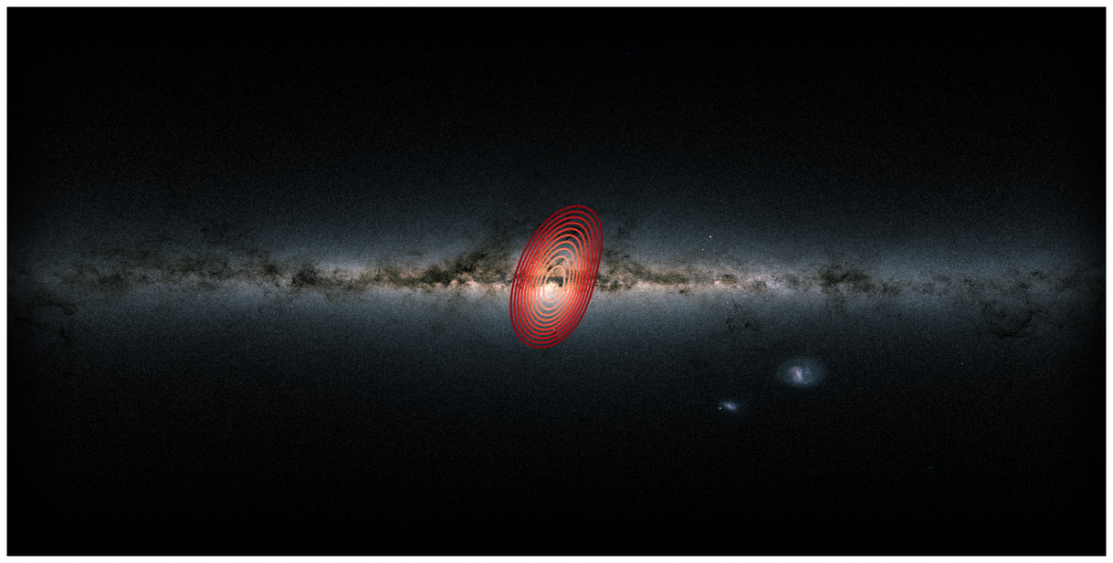 """""""Fossil Galaxy"""" Discovered Buried Deep Within the Milky Way"""