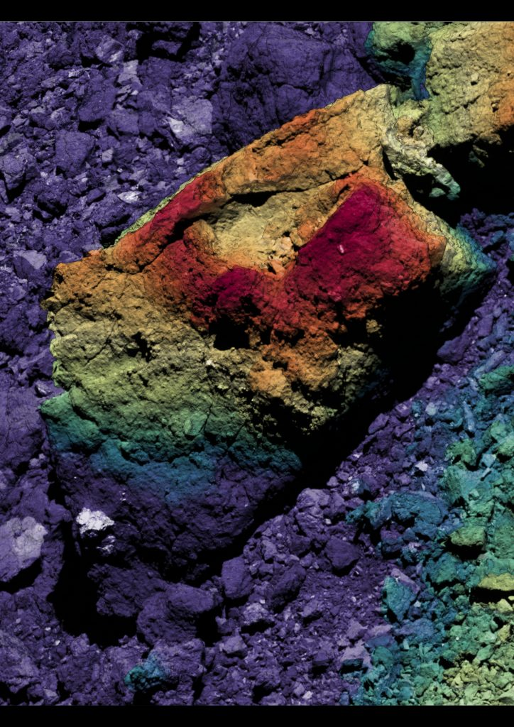 Craters on Bennu's Boulders Indicate Asteroid's Age