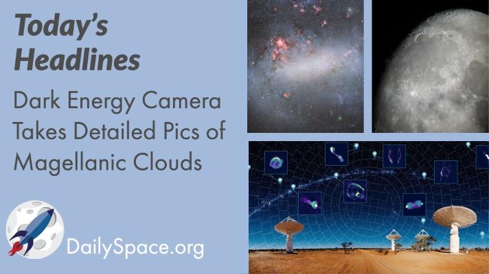Dark Energy Camera Takes Detailed Pics of Magellanic Clouds
