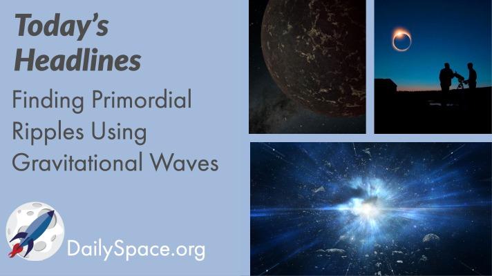 Finding Primordial Ripples Using Gravitational Waves