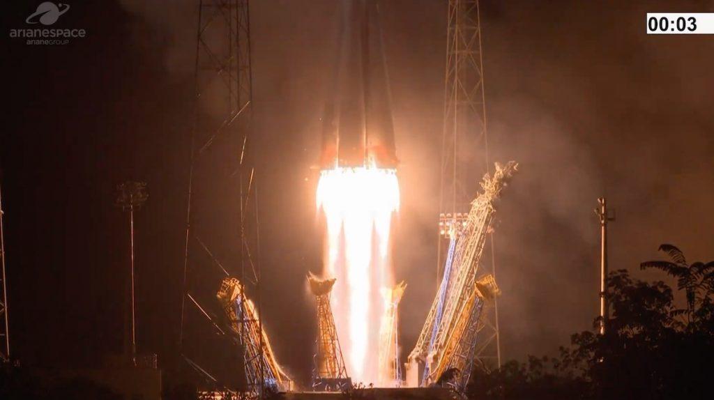 Following several delays, Soyuz finally launches FalconEye 2 for UAE