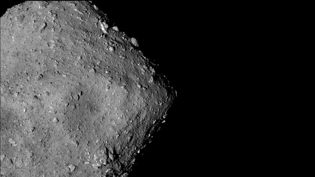 Remote Sensing Finds Water Loss on Ryugu