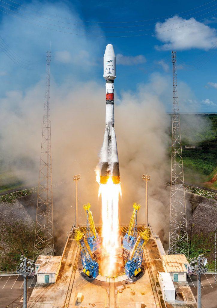 Arianespace Launches Sun-Synchronous CSO-2 Satellite