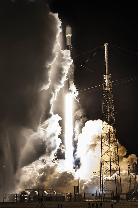 Türksat-5A Launched Onboard SpaceX Falcon 9