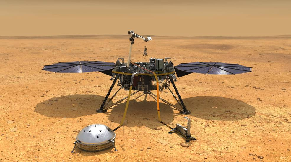 NASA Extends InSight and Juno Missions