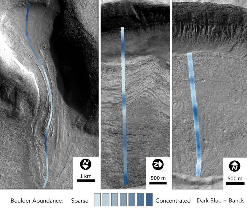 Groundbreaking Analysis of Martian Glaciers Reveals Long History
