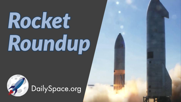 Rocket Roundup for February 3, 2021