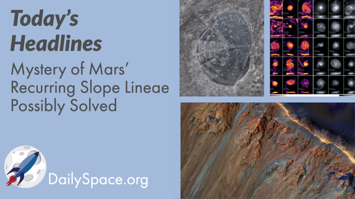 Mystery of Mars' Recurring Slope Lineae Possibly Solved