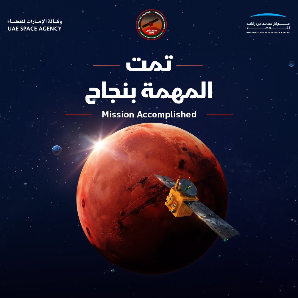 Hope and Tianwen-1 Arrive at Mars, Percy Up Next