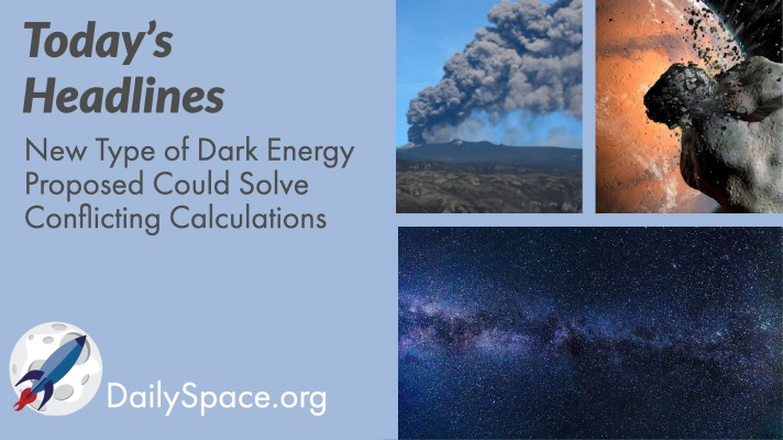 New Type of Dark Energy Proposed Could Solve Conflicting Calculations