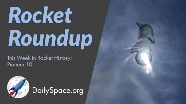 Rocket Roundup for March 10, 2021