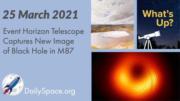 Event Horizon Telescope Captures New Image of Black Hole in M87