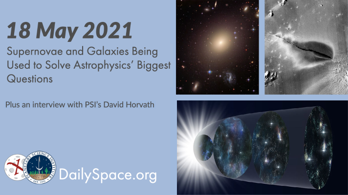 Supernovae and Galaxies Being Used to Solve Astrophysics' Biggest Questions