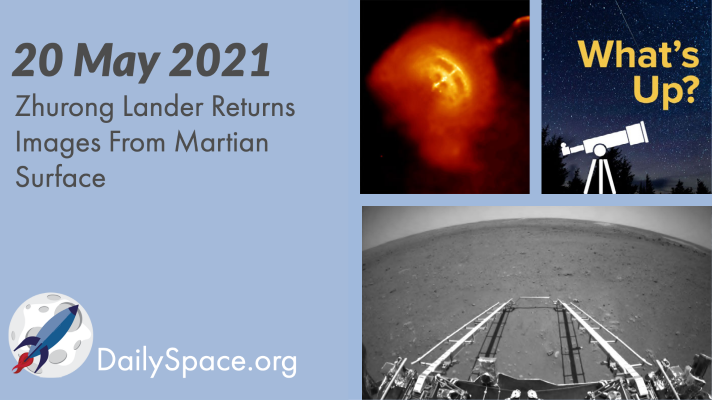 Zhurong Lander Returns Images From Martian Surface