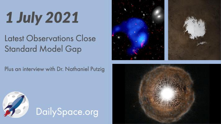 Latest Observations Close Standard Model Gap