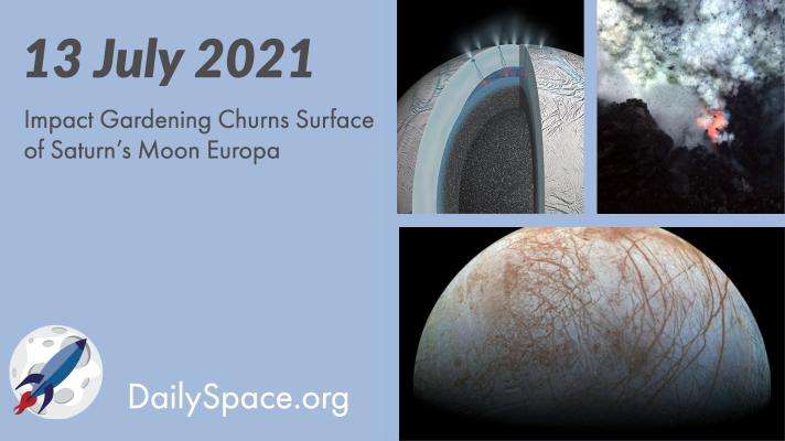 Impact Gardening Churns Surface of Saturn's Moon Europa