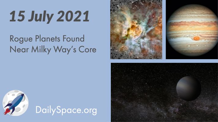 Rogue Planets Found Near Milky Way's Core