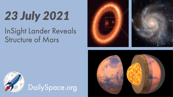 InSight Lander Reveals Structure of Mars