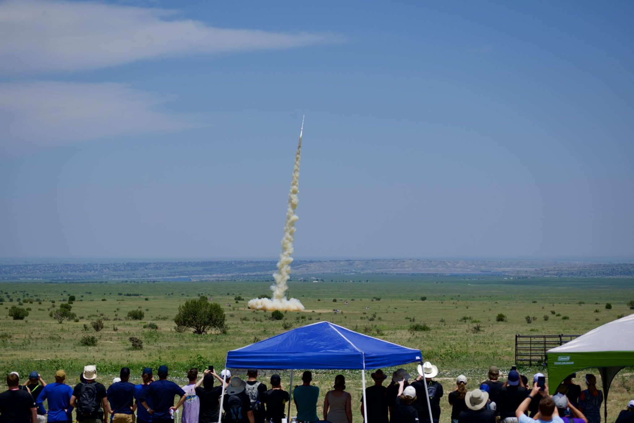 BLT Rockets Launch for ULA's Interns