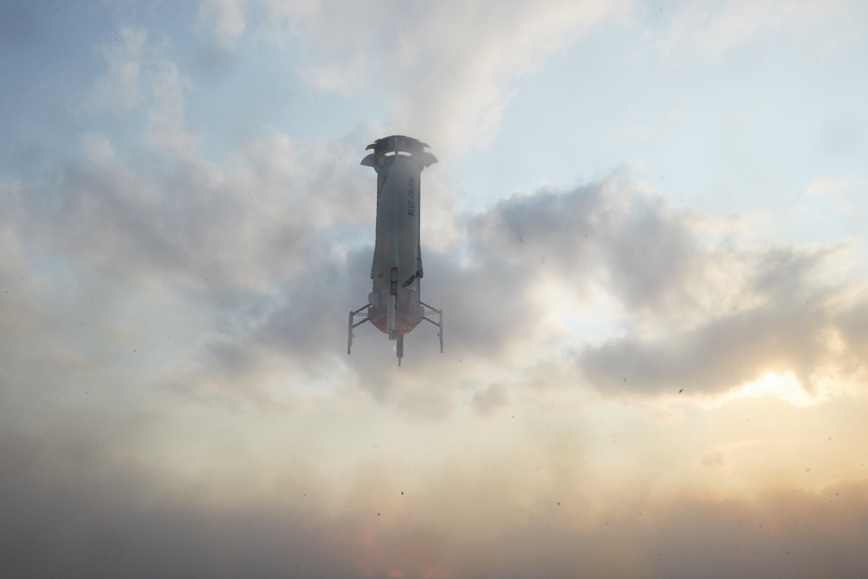 New Shepard's First Crewed Launch a Success!