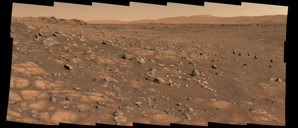 Percy Prepares to Collect Rocks on Mars