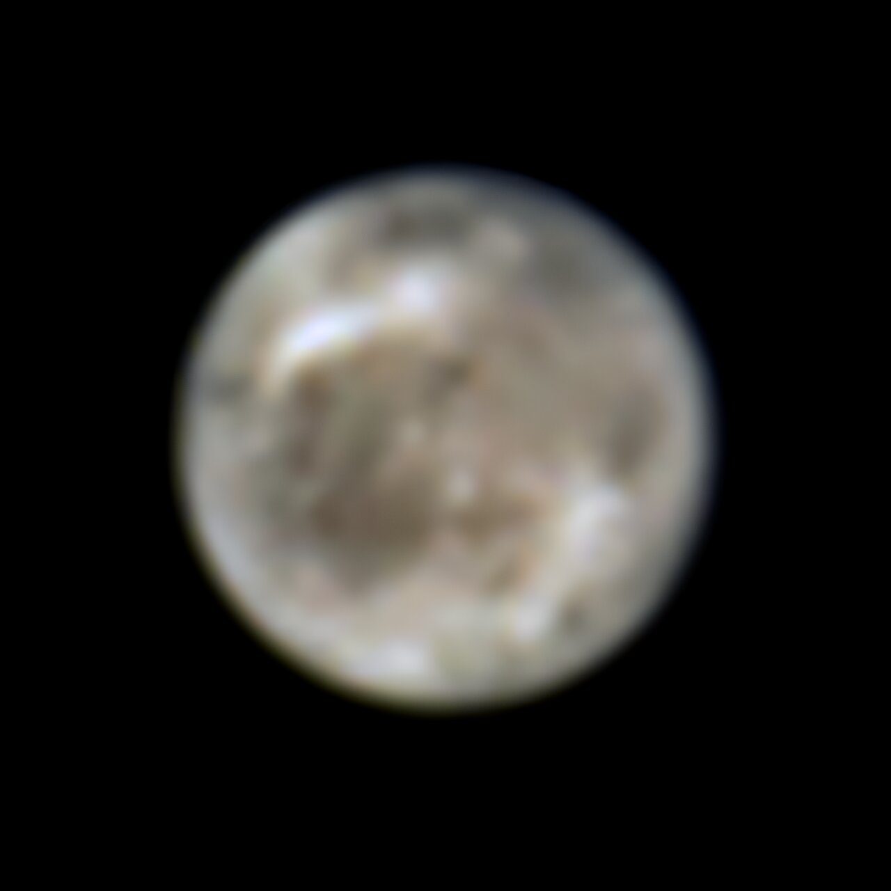Hubble Finds Water Vapor in Ganymede's Atmosphere
