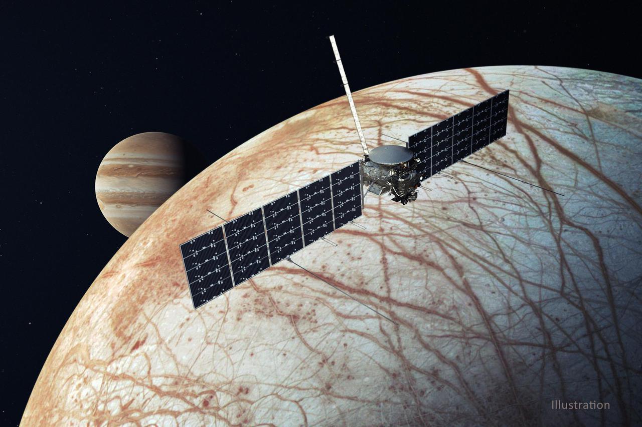 NASA's Chooses SpaceX Falcon Heavy for Europa Clipper