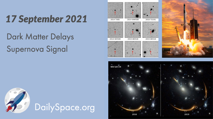 Dark Matter Delays Supernova Signal