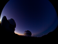 NIghtfall at Mauna Kea