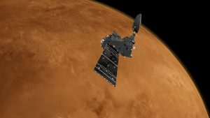Trace Gas Orbiter at Mars, Credit: ESA