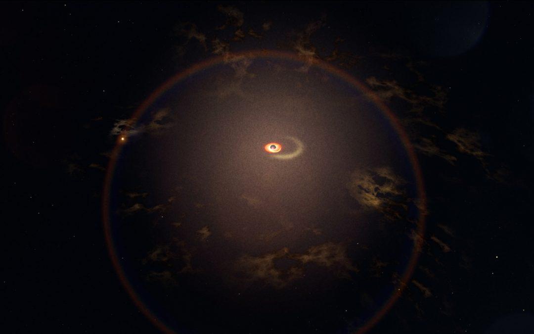 """Old Faithful"" Stellar Eruption Around Black Hole"